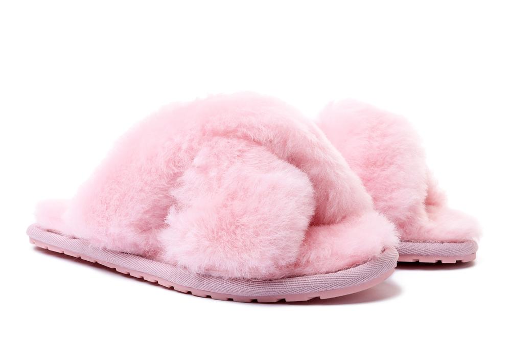 EMU AUSTRALIA W11573 MAYBERRY  baby pink, kapcie/klapki damskie, sklep internetowy e-kobi.pl