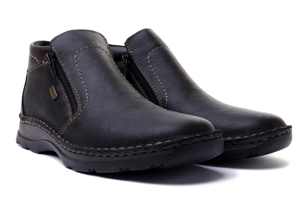 RIEKER 05373-00 black, botki męskie, sklep internetowy e-kobi.pl