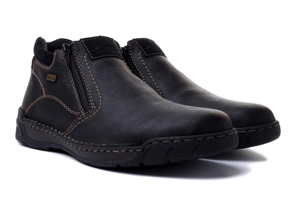 RIEKER TEX B0392-00 black, botki męskie, sklep internetowy e-kobi.pl