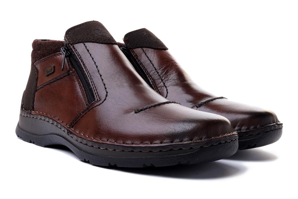 RIEKER TEX 05389-25 brown, botki męskie, sklep internetowy e-kobi.pl