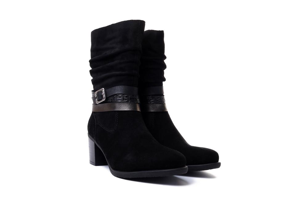 RIEKER Y2088-00 black, kozaki damskie damskie, sklep internetowy e-kobi.pl
