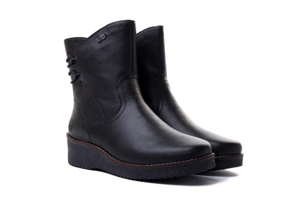 RIEKER TEX Y4662-00 black, botki damskie, sklep internetowy e-kobi.pl