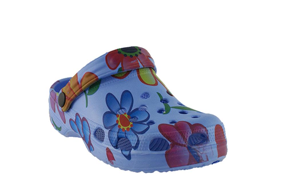 ASYLUM AI-518-37-10 niebieski, croksy, klapki dziecięce,  rozmiary: 31-35, sklep internetowy e-kobi.pl