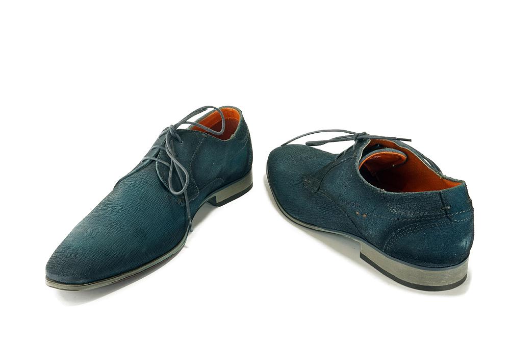 BUGATTI 312-10101-1400 4100 dark blue, półbuty męskie, sklep internetowy e-kobi.pl